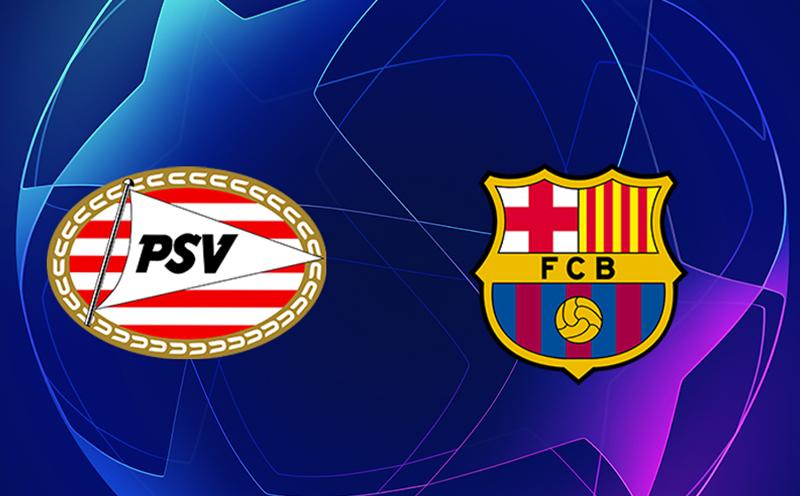 PSV x Barcelona - 5ª Rodada