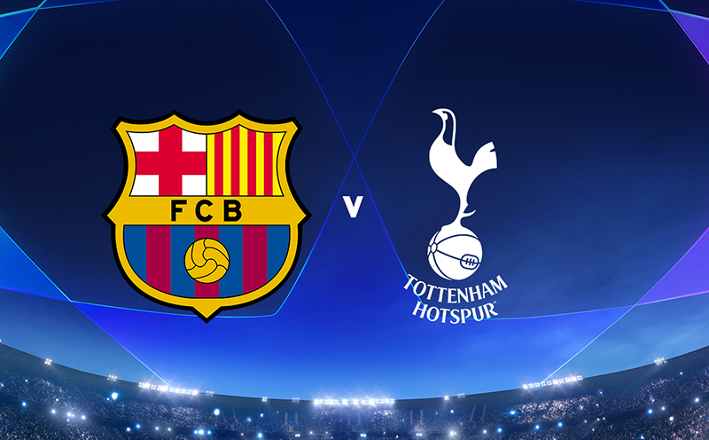 Barcelona x Tottenham - 6ª Rodada
