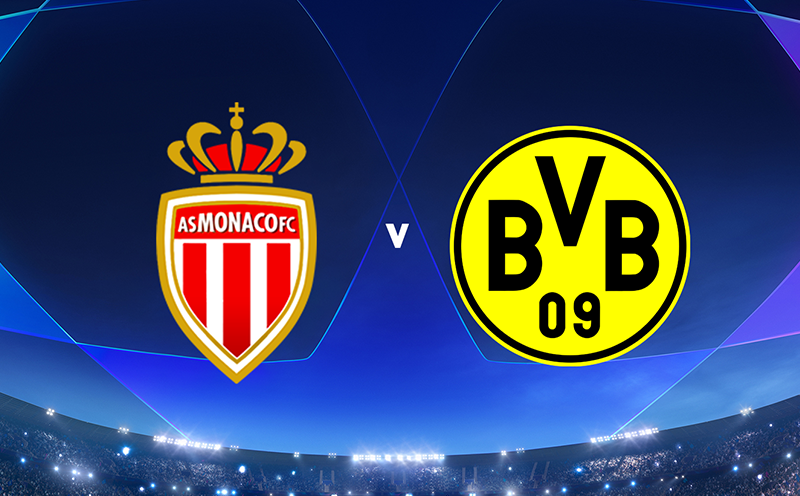 Mônaco x Borussia Dortmund - 6ª Rodada