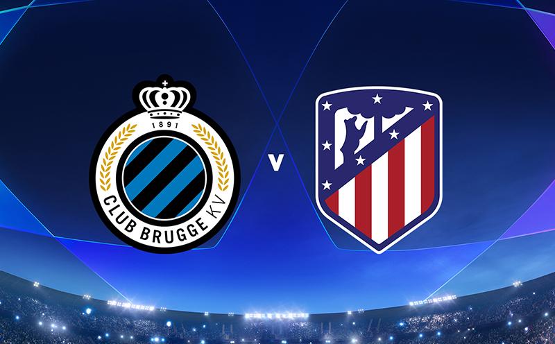 Club Brugge x Atlético de Madrid - 6ª Rodada