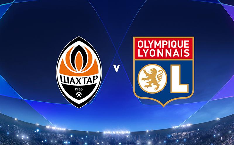 Shakhtar Donetsk x Lyon - 6ª Rodada