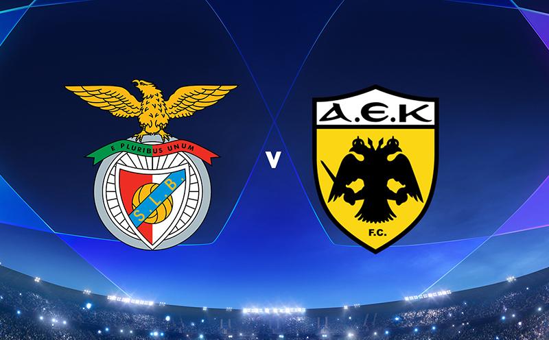 Benfica x AEK Atenas - 6ª Rodada