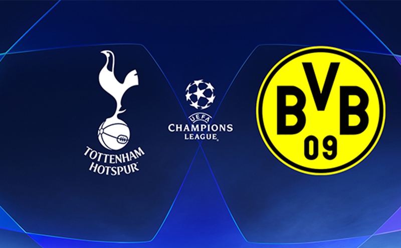 Tottenham x Borussia - Oitavas de Final