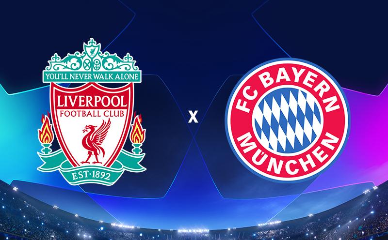 Liverpool x Bayern - Oitavas de final