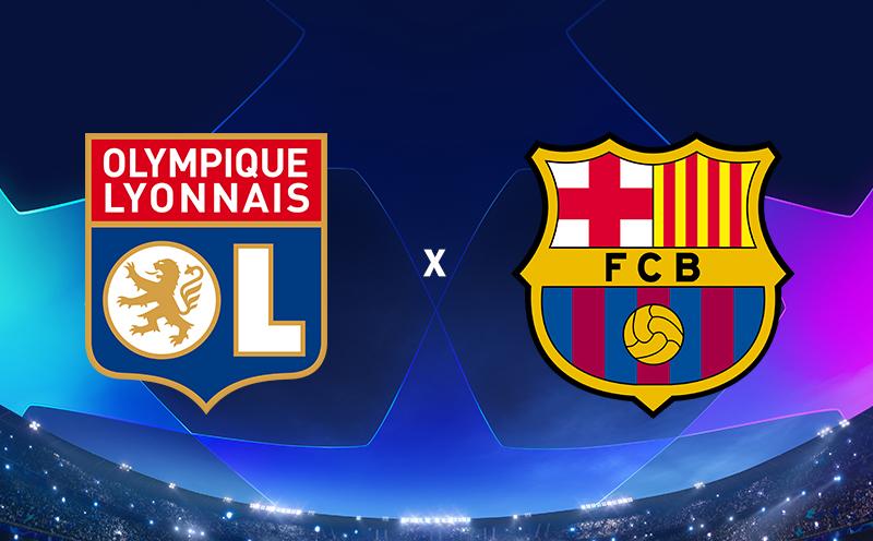 Lyon x Barcelona - Oitavas de final
