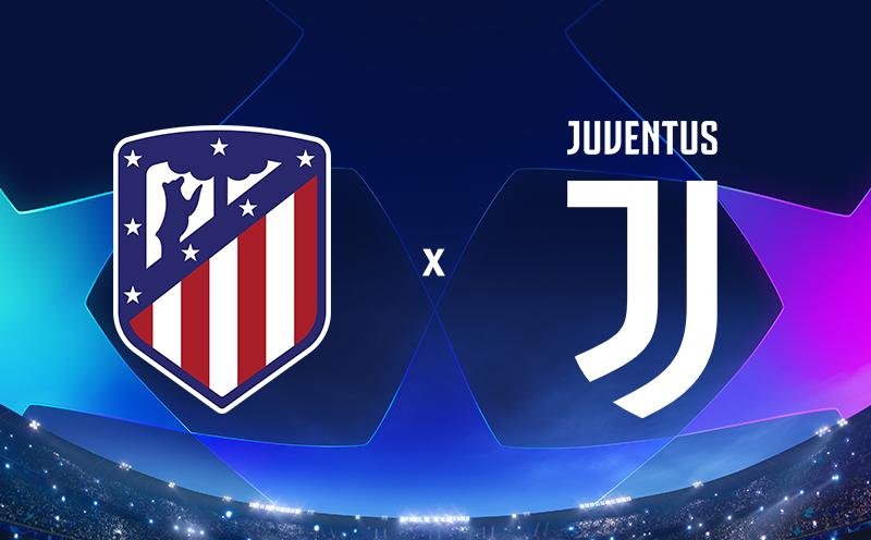 Atlético de Madrid x Juventus - Oitavas de final