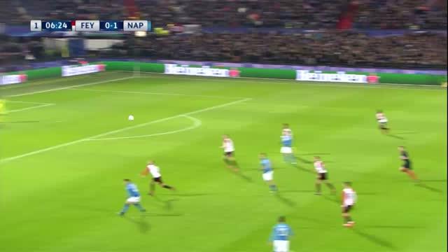 Feyenoord x Napoli - Champions League 17-18
