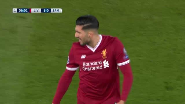 Liverpool x Spartak Moscou - Champions League 17-18
