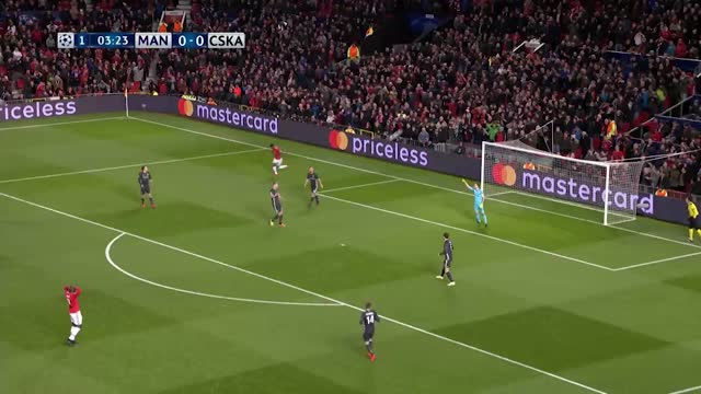 Manchester United x Cska - Champions League 17-18