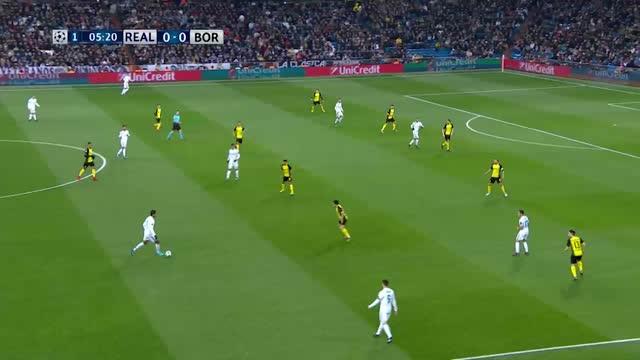Real Madrid x Borussia Dortmund - Champions League 17-18