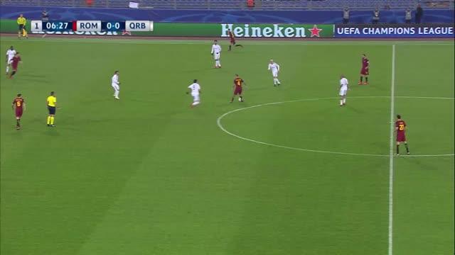 Roma x Qarabag - Champions League 17-18