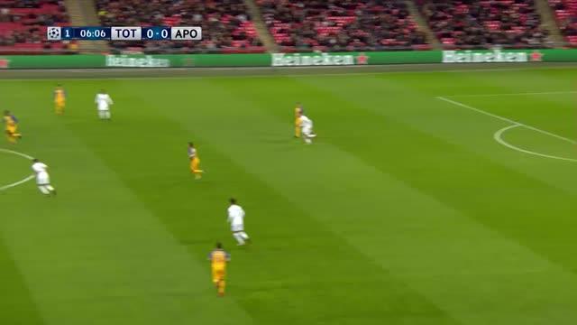 Tottenham x Apoel - Champions League 17-18