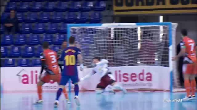 Barcelona x Ribera Navarra - Liga Espanhola de Futsal