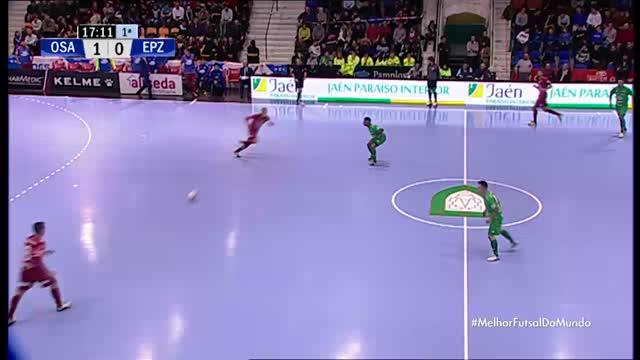 Osasuna x El Pozo Murcia - Liga Espanhola de Futsal