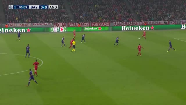 Bayern de Munique x Anderlecht - Champions League 17-18