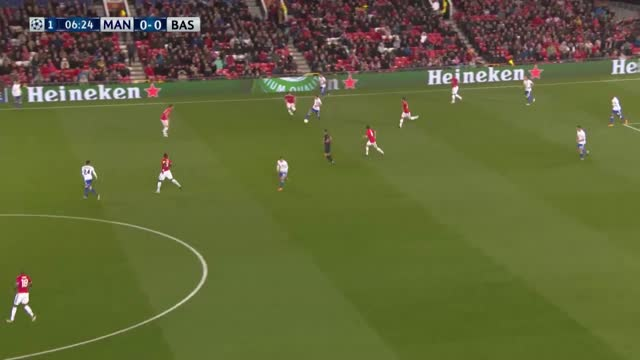 Manchester United x Basel - Champions League 17-18