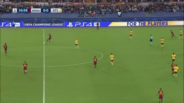 Roma x Atlético de Madrid - Champions League 17-18