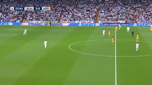 Real Madrid x Apoel - Champions League 17-18