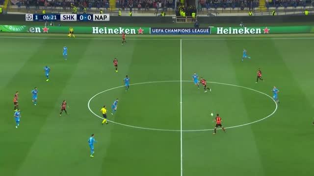 Shakhtar Donetski x Napoli - Champions League | 17-18 - 1ª Rodada