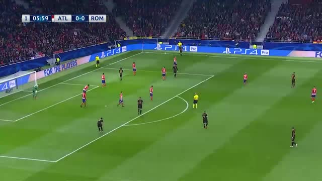 Atlético de Madrid x Roma - Champions League - 5ª rodada.mp4