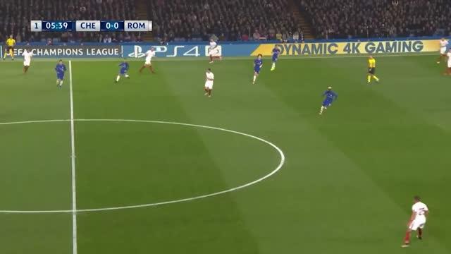 Chelsea x Roma - Champions League | 17-18 - 3ª Rodada