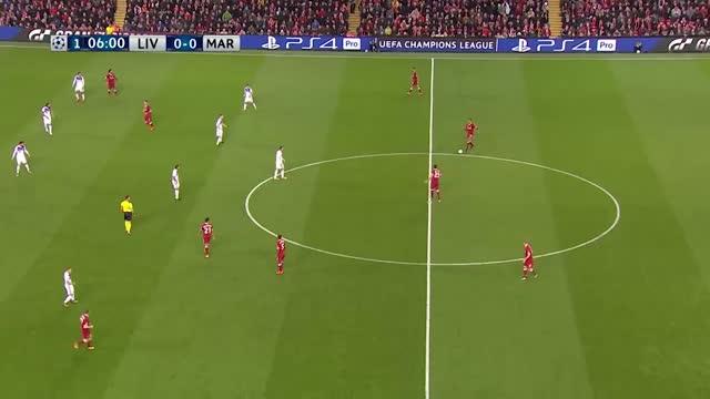 Liverpool x Maribor - Champions League | 17-18 - 4ª Rodada