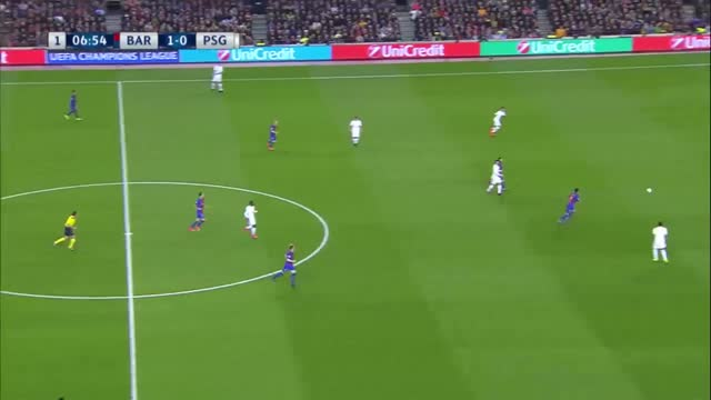 Barcelona x PSG - Champions League 2016/2017- Oitavas de Final - Volta