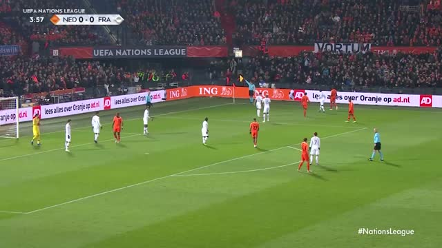 Holanda x França - Nations League - Liga A - 5ª Rodada