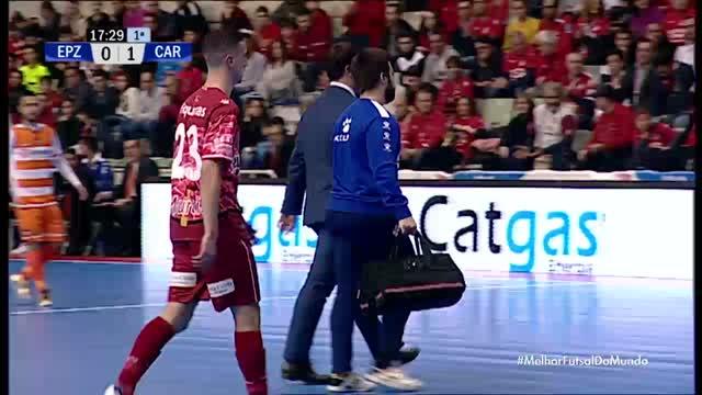 El Pozo Murcia x P Romero Cartagena - Liga Espanhola de Futsal - 13/01/2018