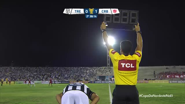 Treze x CRB - Copa do Nordeste - 1ª Rodada