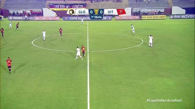 Globo x Vitória - Copa do Nordeste - 1ª Rodada