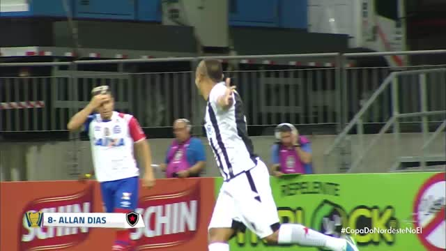 Bahia x Botafogo PB - Copa do Nordeste - 18/01/2018