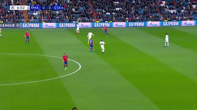 Real Madrid x CSKA - 6ª Rodada