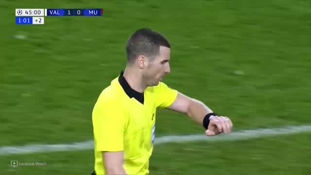 Valencia x Manchester United - 6ª Rodada