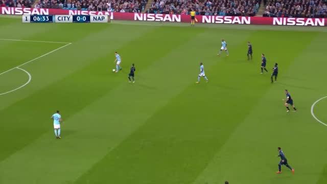 Manchester City x Napoli - Liga dos Campeões - Fase de Grupos