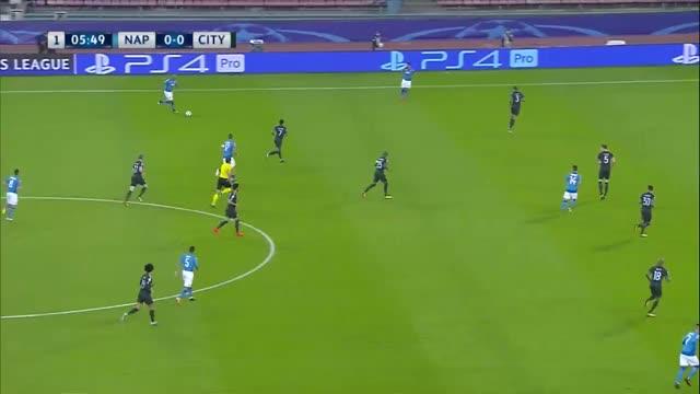 Napoli x Manchester City - Liga dos Campeões - Fase de Grupos