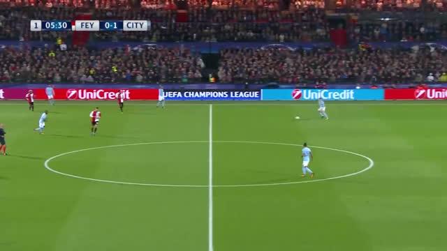 Feyenoord x Manchester City - Liga dos Campeões - 1ª Rodada