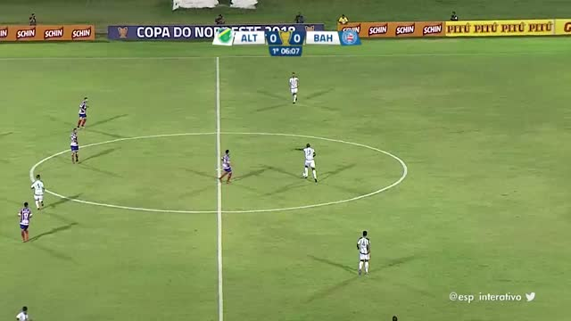 Altos x Bahia - Copa do Nordeste - 30/01/2018