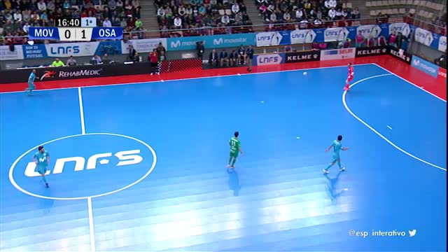 Movistar Inter x Osasuna Magna - Liga Espanhola de Futsal - 18ª Rodada