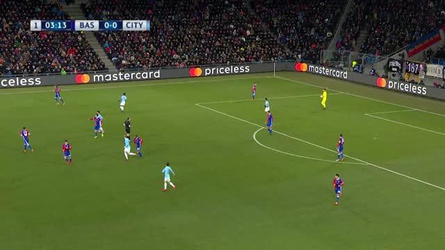 Basel x Manchester City - Liga dos Campeões - Oitavas de Final - Ida