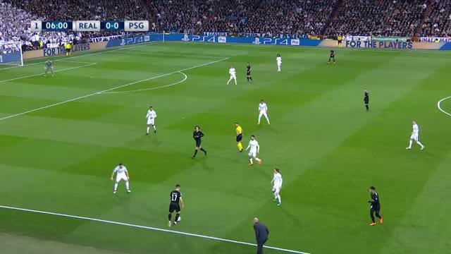 Real Madrid x PSG - Liga dos Campeões - Oitavas de Final - Ida