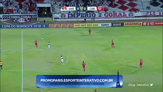 Santa Cruz x CRB - Copa do Nordeste - Fase 1 - Rodada 3