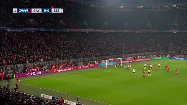 Bayern de Munique x Besiktas - Liga dos Campeões - Oitavas de Final - Ida