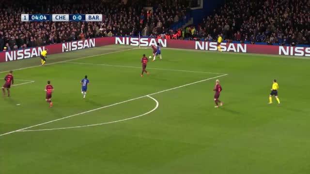 Chelsea x Barcelona - Liga dos Campeões - Oitavas de Final - Ida
