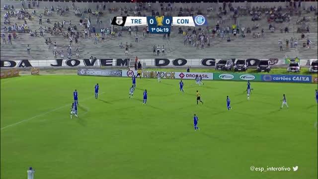 Treze x Confiança - Copa do Nordeste - 4ª Rodada