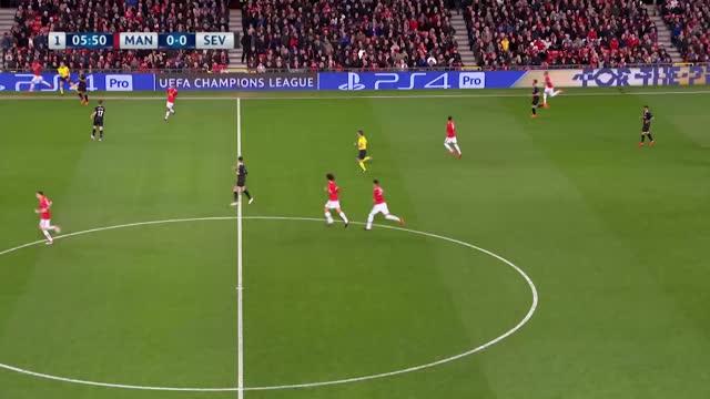 Manchester United x Sevilla - Liga dos Campeões - Oitavas de final - Volta