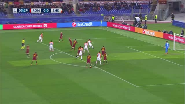 Roma x Shakhtar Donetsk - Champions League | 17-18 - Oitavas de Final - Volta
