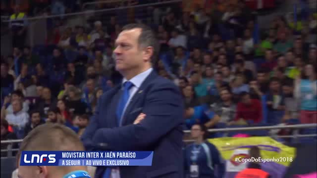 Movistar Inter x Jaen Paraiso Interior - Copa Espanhola de Futsal - Final