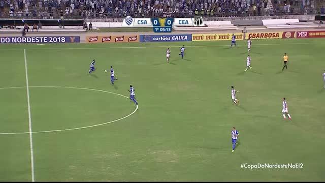 CSA x Ceará - Copa do Nordeste - 5ª Rodada