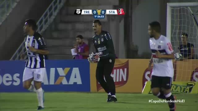 Treze x Santa Cruz - Copa do Nordeste - 5ª Rodada